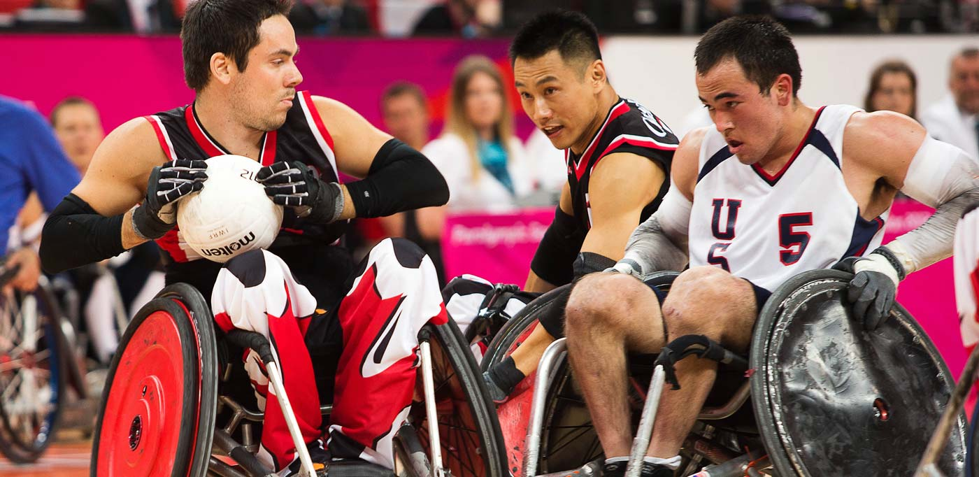 1st annual canam quad rugby cup match can am rugby